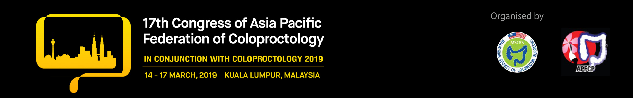 17th Congress of Asia Pacific Federation of Coloproctology (APFCP 2019)