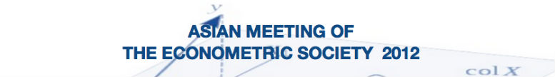Asian Meeting of the Econometric Society