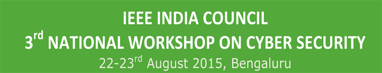 IEEE National Workshop on Cyber Security